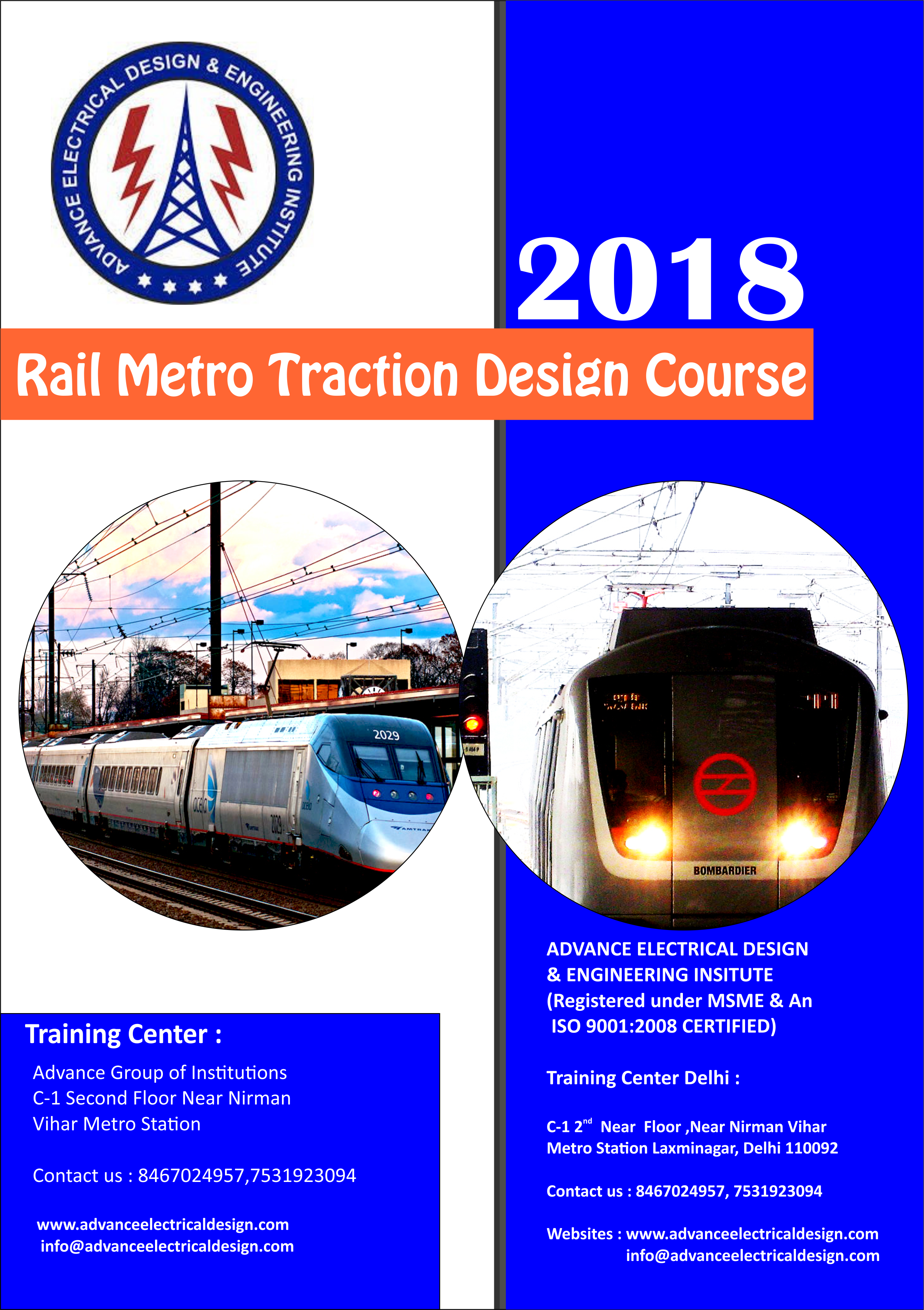Railway Traction Design Course Traction Design Course In
