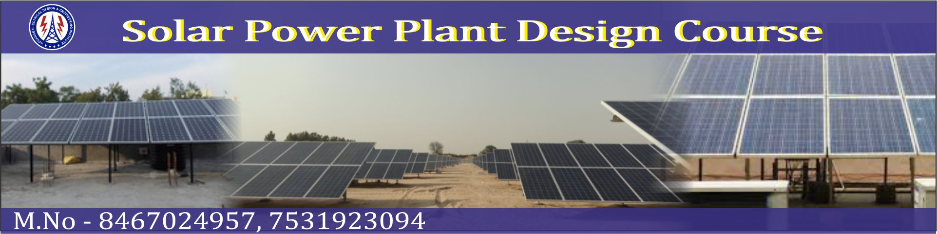 Solar power plant design course in delhi